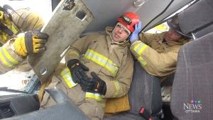 Rollover rescue training