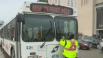 Security measures to protect bus drivers