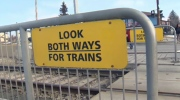 Heads up at CTrain crossings