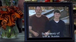 Jeffrey Morris Brasher and his son, Austin Blaine Brasher, are shown in a photo.