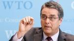 Roberto Azevedo, Director General of the World Trade Organization, in Geneva, Switzerland, on Feb. 22, 2017. (Salvatore Di Nolfi / Keystone via AP)