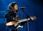 Buffy Sainte-Marie performs at the Americana Music Honors and Awards show Wednesday, Sept. 16, 2015, in Nashville, Tenn. (THE CANADIAN PRESS/AP/Mark Zaleski)