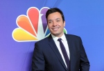 In this May 12, 2014 file photo, 'The Tonight Show' host Jimmy Fallon attends the NBC Network 2014 Upfront presentation at the Javits Center in New York. (Photo by Evan Agostini/Invision/AP, File)