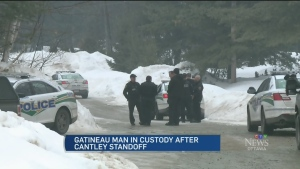 Man arrested after standoff