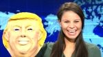 Talking Trump toy mask responds back with 'Trumpis