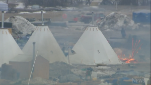 Standing Rock protest camp closing