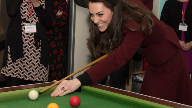 Duchess of Cambridge visits projects supporting vulnerable families in Wales