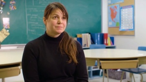 Maggie MacDonnell, a teacher is Salluit, Quebec, is a finalist in the million-dollar Global Teacher Prize