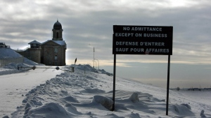 Stony Mountain penitentiary in Manitoba. (THE CANADIAN PRESS/Winnipeg Free Press/Ruth Bonneville)
