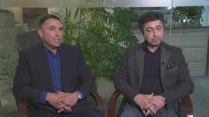 Jimmy Cacchione and Giovanni Di Feo were Montreal police officers until they were accused -- and cleared -- of wrongdoing.