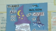 School holds surprise party for retiring custodian