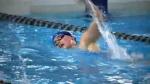 University Lethbridge Pronghorns swimming
