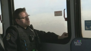 Bus-riding Regina cops nab distracted drivers