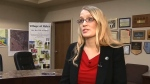 Ryley Mayor Lavonne Svenson spoke to CTV News on Wednesday, February 22, 2017.