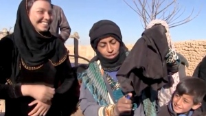 Syrian women rejoice after ISIS ousted