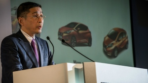 Nissan Motor Co. Chief Executive Hiroto Saikawa is seen in this undated photo. (Nissan Motor Co.)