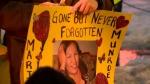 Marilyn Munroe Vigil