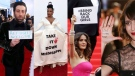 It may seem like political messages have increasingly been creeping onto red carpets and into awards speeches these days, but they're hardly a new trend. CTVNews.ca's Cecilia Bernasch looks at prominent displays of politics on red carpets over the years.