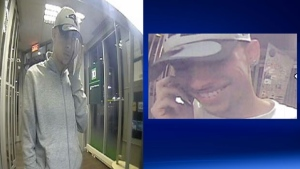 Police are seeking this suspect in a credit card scam involving a taxi.