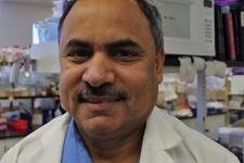 Chemistry professor Siyaram Pandey