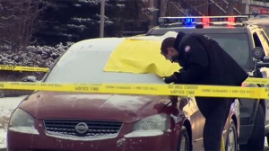 Police are investigating the death of a man who was found dead in a car on Centre Stree N on Thursday, February 23, 2017.