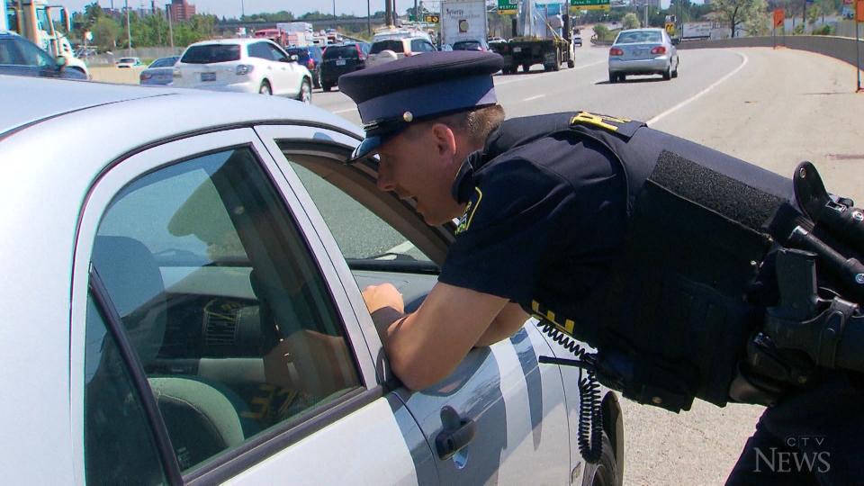 Police test