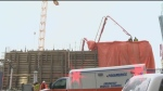 Worker injured on True North Square site