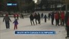 CTV Calgary: Olympians lace up for Skate Calgary
