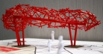 Network is one of 10 public art projects approved for installation along the Ion light rail transit route.