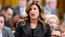Interim Conservative Leader Rona Ambrose asks a question during Question Period in the House of Commons in Ottawa, Thursday, Feb.23, 2017. THE CANADIAN PRESS/Adrian Wyld