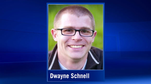 Dwayne Schnell was arrested on child sexual exploitation offences on Wednesday, February 22, 2017. (dwayneportfolio.weebly.com)