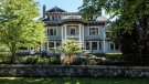 "Built in 1912, the four-level estate listed for $19-million includes much of the original wainscoting, paneling, woodwork and crown moldings. Whoever buys the pricey estate, which is designated as a <a href=""http://bc.ctvnews.ca/protected-1912-vancouver-heritage-mansion-listed-for-19-million-1.3298448"" target=""_blank""><strong>heritage property</strong></a>, will be unable to make major changes to the home without a special permit from the city. (REW.ca/Manyee Lui)"