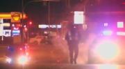 Pedestrian killed near missing street light