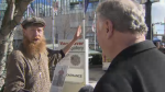 The Last Word: Lucky day for street performer