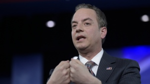 White House Chief of Staff Reince Priebus speaks at the Conservative Political Action Conference (CPAC) in Oxon Hill, Md. on Thursday, Feb. 23, 2017. (AP / Susan Walsh)