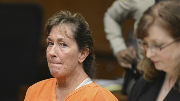 Sherri Lynn Wilkins appears in Los Angeles Superior Court in Torrance, Calif. on Tuesday, Nov. 27, 2012. (Brad Graverson / Los Angeles Daily News)