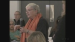 A public input meeting was held in London, Ont, on Thursday, Feb. 23, 2017 on the idea of being declared a sanctuary city. (Marek Sutherland / CTV London)