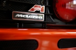 In this Wednesday, June 3, 2015 file photo, the logo of a McLaren F1 Supercar is seen at Sotheby's in New York. (AP Photo/Seth Wenig, file)