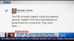 CTV News Channel: Trump blasts FBI