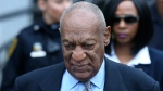 In this Tuesday, Nov. 1, 2016 file photo, Bill Cosby leaves after a hearing in his sexual assault case at the Montgomery County Courthouse in Norristown, Pa. Cosby was charged with aggravated sexual assault on Dec. 30, 2015.  (AP Photo/Mel Evans, File)
