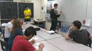 These Bishop Carrol students hope to head to Switzerland in the fall to test their theory.