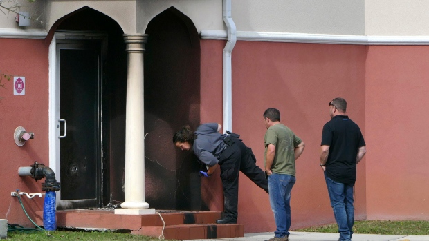 Fire at Florida's Daarus Salaam Mosque mosque
