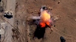 Modified ISIS drones drop bombs in Mosul