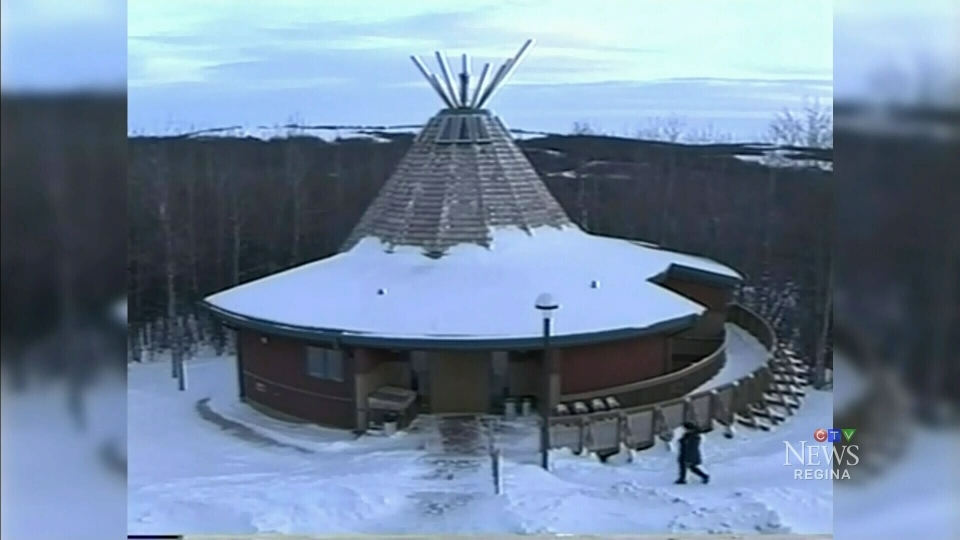 A healing lodge is seen in this file photo.