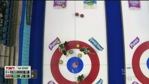 Manitoba's Michelle Englot at Scotties