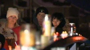 A candlelight vigil was held Friday, February 24, 2017, in Bayside to remember the six-year-old boy who did not survive a fall through the ice.