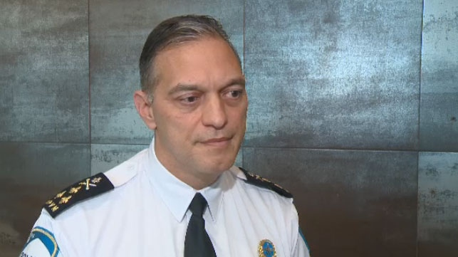 SPVM Chief Philippe Pichet.