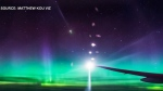 CTV News Channel: Northern Lights mesmerize flight