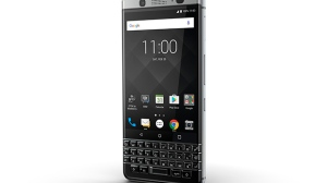 The BlackBerry Mercury is shown in this undated handout photo. Fans of BlackBerry's classic physical keyboard will have reason to celebrate when the last product designed in part by the former smartphone leader becomes available in April. THE CANADIAN PRESS/HO - BlackBerry