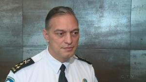 SPVM Chief Philippe Pichet